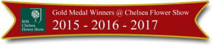 chelsea flower show gold medal winners 3 years running